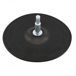 RUBBER BACKING DISC