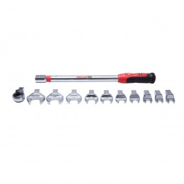 TORQUE WRENCH WITH CHANGEABLE ENDINGS