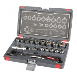 17 PC. GO THRU SOCKET SET