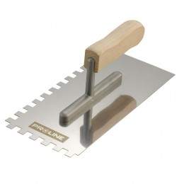 STAINLESS ADHESIVE SPREADING TROWELS