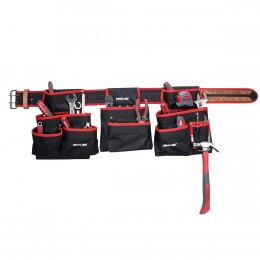HEAVY DUTY TOOL BELT WITH POUCHES