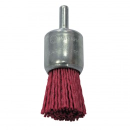 ABRASIVE END BRUSH