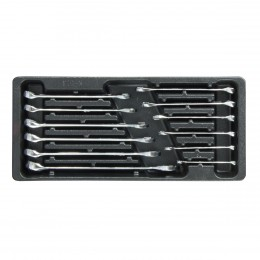 Tool tray for combination spanners