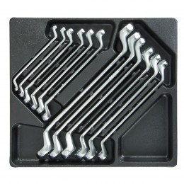 12 PC. TOOL TRAY FOR RING SPANNERS
