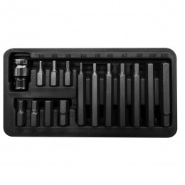 15 PC. HEX BIT SET