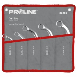 'C' type ring spanner set