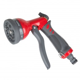 SPRAY GUN, 9 FUNCTION, METAL BODY